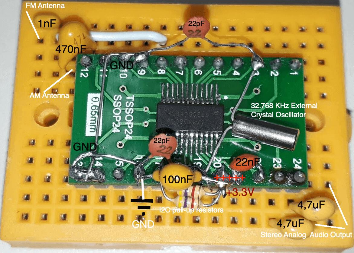 Homebrew SI4735 Arduino shiled